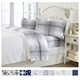 Best Flannel Sheets - Extra Soft Plaid 100% Turkish Cotton Flannel Sheet Review