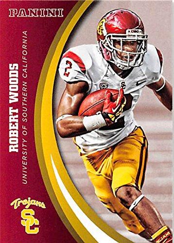 (Robert Woods football card (USC Trojans) 2015 Panini Team Collection #58)