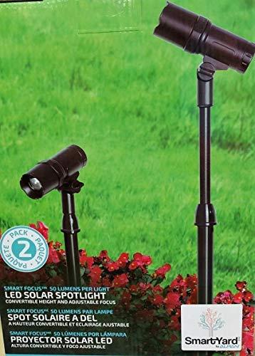 SmartYard LED Solar Spotlight 2 Pack [並行輸入品] B07R9QXRQN