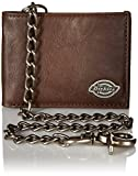 Dickies Men's Leather Slimfold Wallet with Chain Review