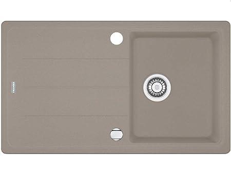 Franke Basis BFG 611-86 Cashmere Grau Granit-Spüle Spülbecken Einbau ...