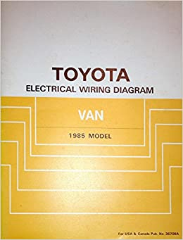 toyota van 1985 electrical wiring diagram toyota staff amazon toyota van 1985 electrical wiring diagram toyota staff amazon com books