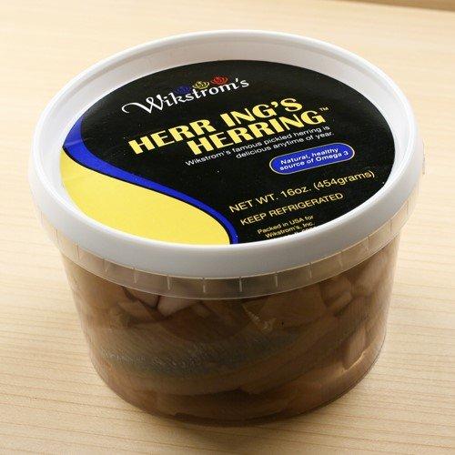 Wikstroms Pickled Herring - Original (16 ounce) by Wikstrom's Gourmet