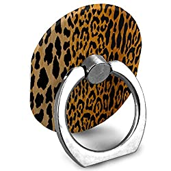 Phone Stand Leopard Animal Prints Ring Cell Phone Stand Adjustable 360 Rotation Finger Ring Stand For Ipad Kindle Phone X 6 6s 7 8 8 Plus 7 Divi Accessories Desk Android Smartphone