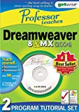 Greenstreet Professor Teaches: Dreamweaver 8 & MX Training Suite (PC)