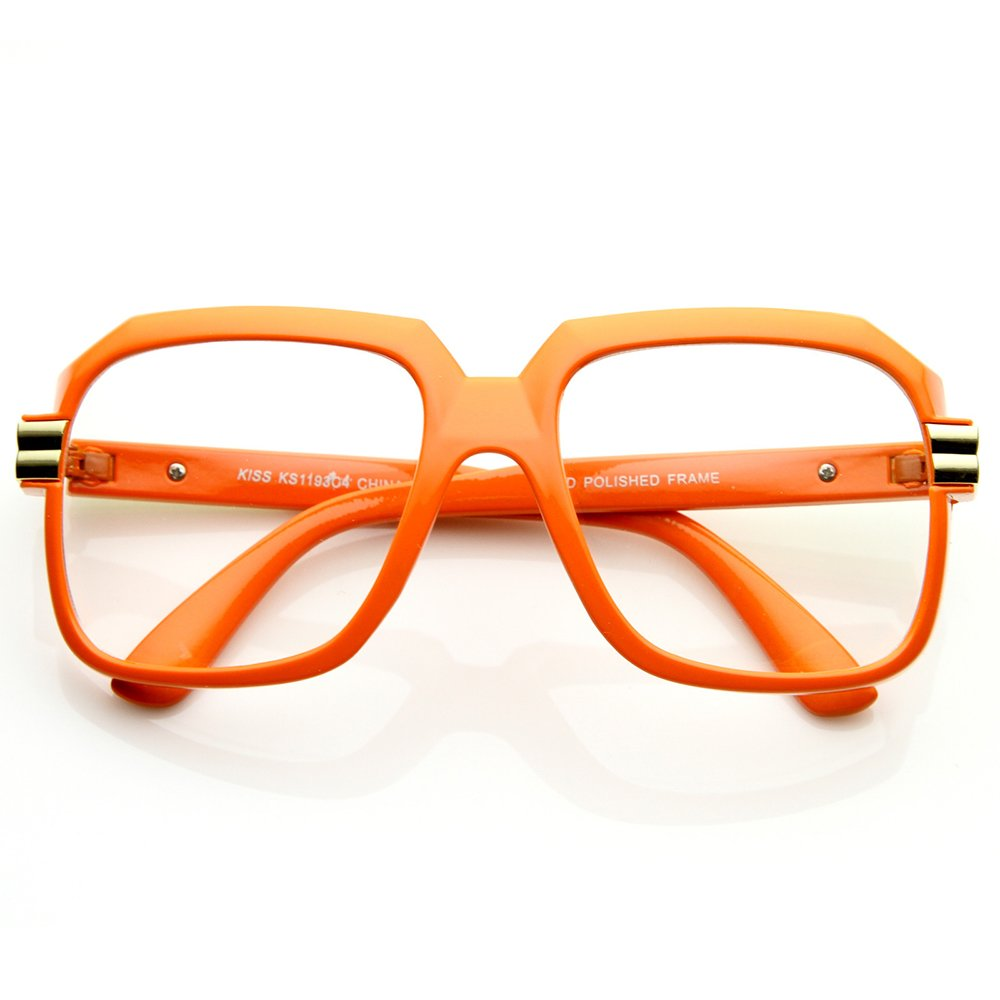 optical frame VINTAGE man woman HIP-HOP RUN-DMC OLD SCHOOL mod Glasses neutral KISS