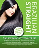 Brazilian Straight, Keratin Home Use Treatment Kit, Salon Quality Hair Straightening / Blow Dry / Smoothing, 100ml. Great Christmas Gift / Present.