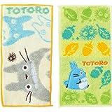 丸真 口袋毛巾 2条装 幼儿园 托儿所用 毛巾手帕 棉* 吉卜力 龙猫 約20×10cm 1025002700