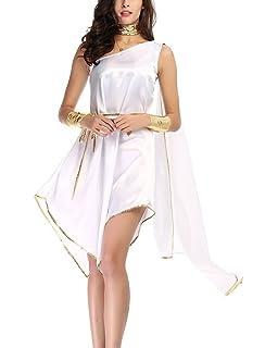 inlzdz Lady Disfraz Diosa Griega Romana Toga para Mujer ...