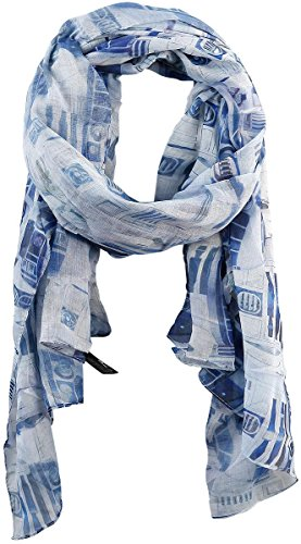 Star Wars R2D2 Viscose Scarf Multi One Size - Womens Star Wars