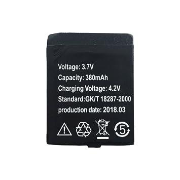 Reloj Inteligente Batería V9 Batería de Litio Recargable con Capacidad 380MAH