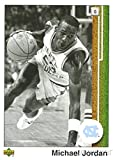 Michael Jordan 2009/10 Upper Deck #98 Michael Jordan Legacy Hall of Fame Set in 1989 UD Design in North Carolina Uniform! Rare Card of Bulls HOF'er Shipped in Ultra Pro Top Loader to Protect it