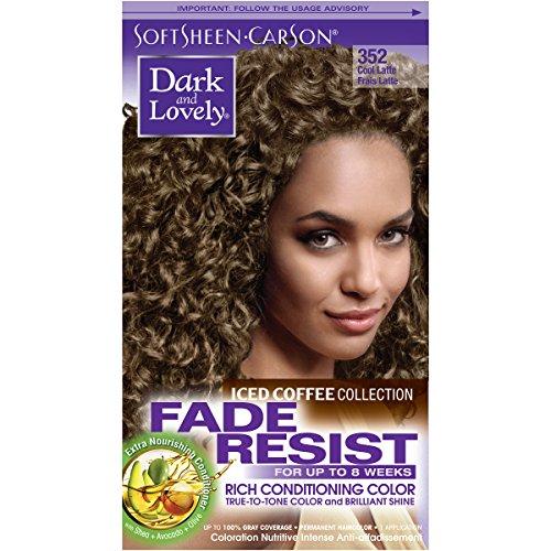 Softsheen Carson Fade Resist Rich Conditioning Color Iced CoffeeCaramel Latte - 403