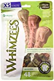 WHIMZEES WHZ301 Natural Grain Free Dental Dog Treats, Brushzees, Bag of 48 Extra
