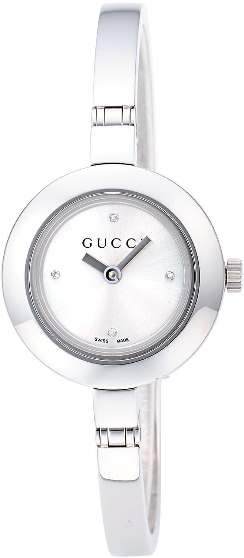 [グッチ]GUCCI 腕時計 Gサークル シルバー文字盤 ダイヤモンド YA105545 レディース 【並行輸入品】 B006OULLCG