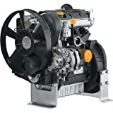 Kohler 3-Cylinder Diesel Engine - 1,028cc, High Speed Open Power with Group 8 Interchange, Model# PAKDW10031001A