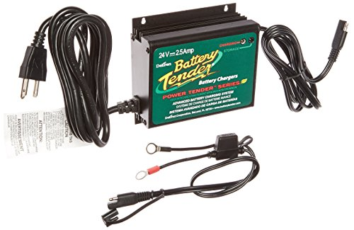 - Battery Tender 022-0158-1 Waterproof 24 Volt Power Tender Plus Battery Charger