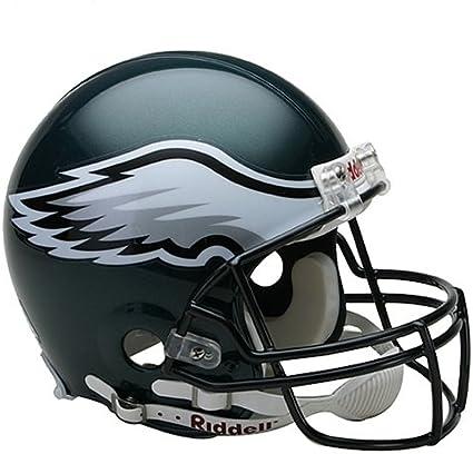 Amazon Com Nfl Philadelphia Eagles Full Size Proline Vsr4 Football Helmet Philadelphia Eagle Authentic Helmet Sports Outdoors