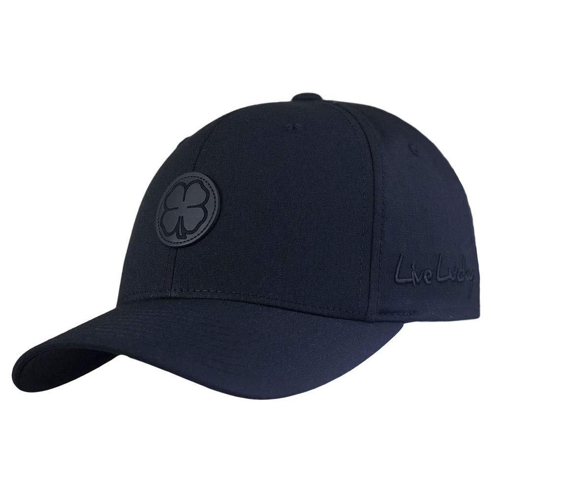 Black Clover Sharp Luck Flex Stretch Fitted Cap Black
