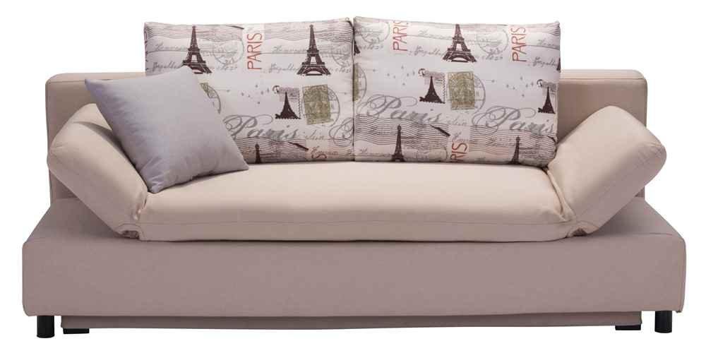 Amazon Zuo Modern Serenity Sleeper Sofa Beige Kitchen & Dining
