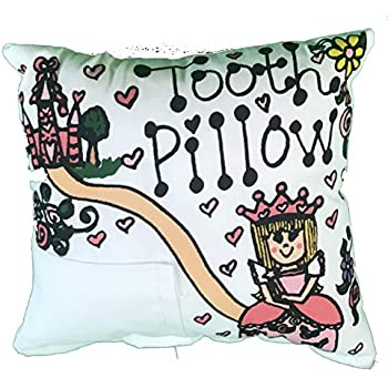 Amazon.com: Búho Diente Hada almohada con Tooth Fairy Dust: Baby