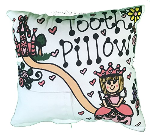 Personalized Tooth Fairy Pillow (Princess Tooth Fairy Pillow with Tooth Fairy Dust)