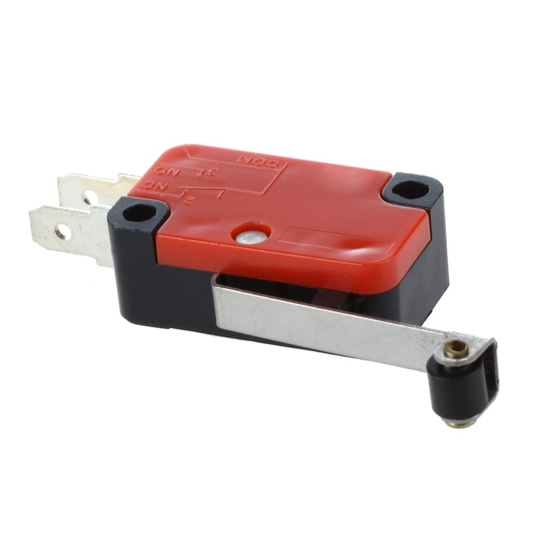 SODIAL(R) 15A Microinterruptor accion brusca V-156-1C25 pin embolo (SPDT Micro Switch)