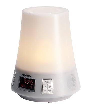 MEDION MD 83712 Lichtwecker mit Funktion Sonnenaufgang: Amazon.de ...