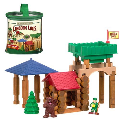 Knex Frontier Lookout Lincoln Logs