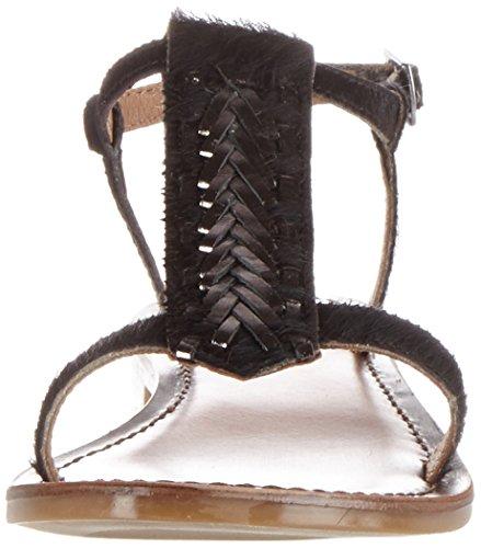 Donna Chiusura pewter Schwarz T black 7306 A Inuovo BIaHqB