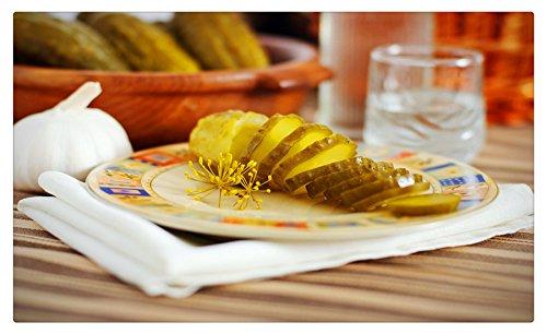 (Cucumbers_Garlic_Vodka_466683 Postcard Post card)