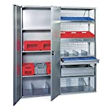 SSI Schaefer - S1848X - 48 x 18 20 Gauge Steel Additional Shelf, Gray; PK1