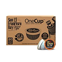 San Francisco Bay French Roast Coffee, 80 Count
