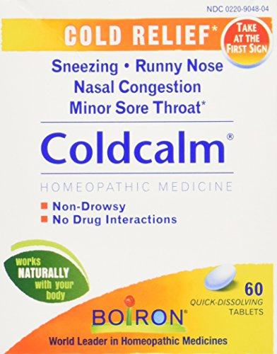 Boiron Coldcalm, 60 Count