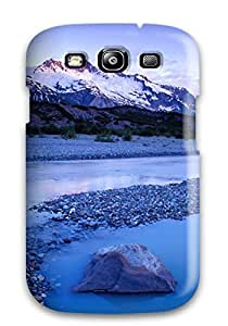 Fashion Tpu Case For Galaxy S3- Mountain Lumber River Much Blue Light Nature Other Defender Case Cover