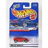 Mattel Hot Wheels 2006 1:64 Scale Purple & Red WWE Hulk Hogan Sir Ominous 5/5 Die Cast Car #110