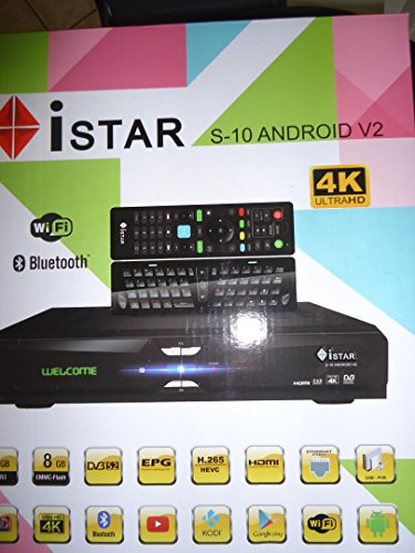 Istar Korea S10 V2 Android 4K 1 Year Free Online Tv 3000 channels