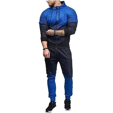 Longra ☂☂ ✈✈❤❤Autumn Winter Stripe Gradient Color Sweatshirt ...