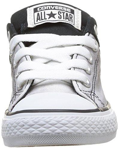 Chuck Noir Baskets noir blanc Street High Converse Enfant Mixte Taylor Mode wU8wAx