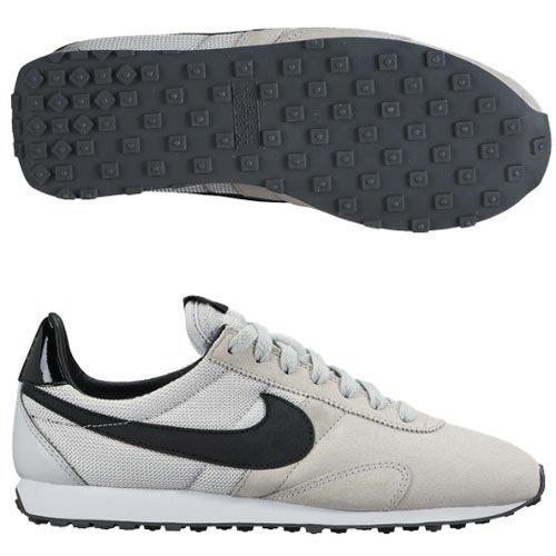 nike womens pre montreal Racer VNTG trainers 555258 sneakers shoes (uk 5.5 us 8 eu 39, pure platinum black wolf grey dark grey 016)