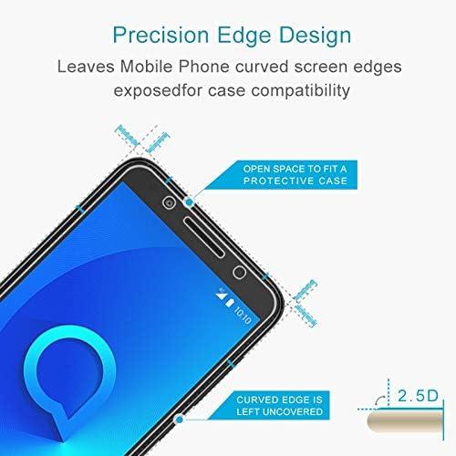 LGYD for 50 PCS for Alcatel 1X 2.5D Non-Full Screen Tempered Glass Film