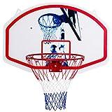 TNPSHOP 35'' x 24'' Wall Mounted Mini Basketball Hoop Backboard & Rim Combo Indoor Sports