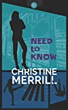 Need to Know by  Christine Merrill in stock, buy online here