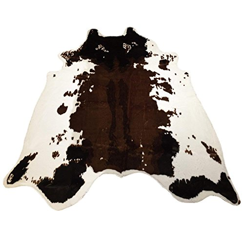 Amazon Com Cow Print Rug 4 3x4 5 Feet Faux Cowhide Rug