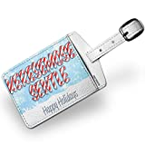 Luggage Tag Merry Christmas in Tswana from Botswana, South Africa - NEONBLOND