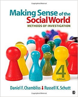 :TOP: Making Sense Of The Social World: Methods Of Investigation. Online Control mercado puede producto alumnos ushered Celso