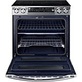 Samsung NE58K9850WS / NE58K9850WS/AA / NE58K9850WS/AA 5.8 Cu. Ft. Electric Slide-in Flex Duo Range