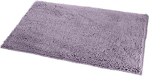 Purple bath rugs and towels