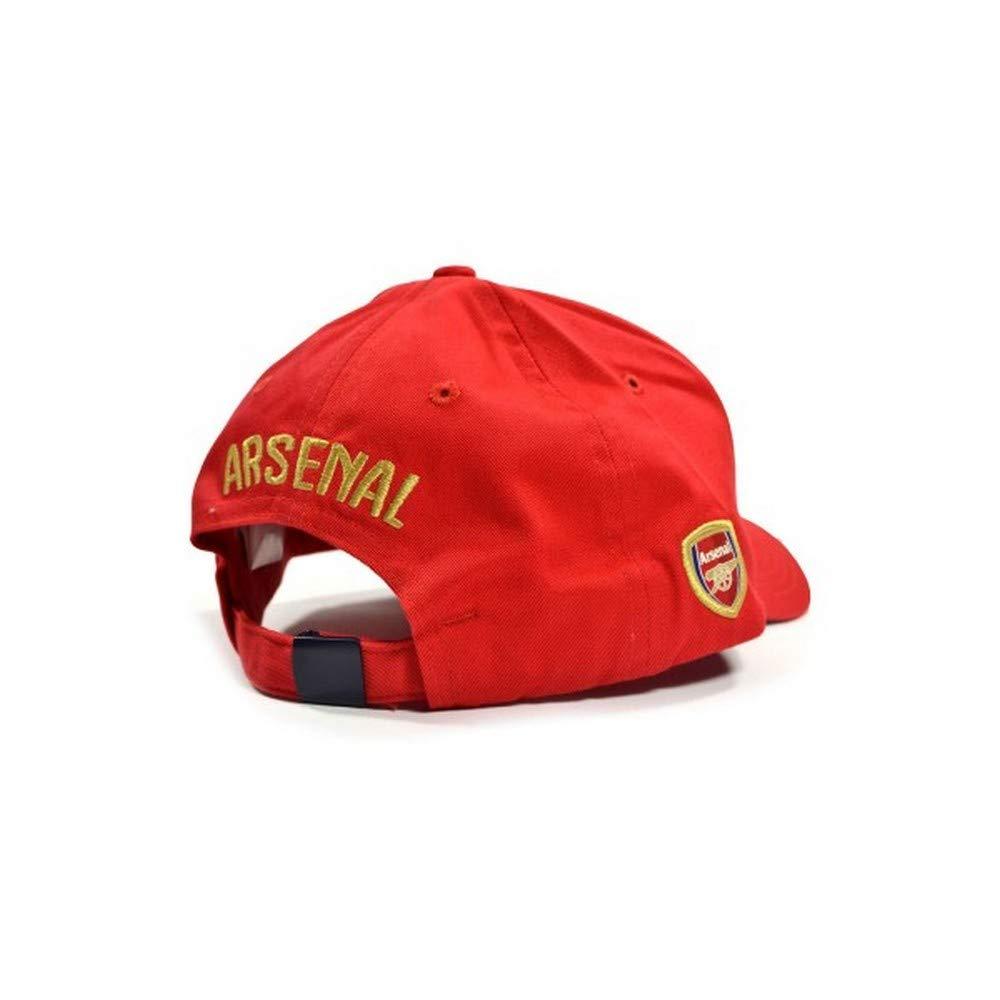 71b3d233dedc3 Amazon.com   Arsenal Puma Leisure Baseball Cannon Logo Cap Red One Size    Clothing