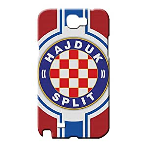 samsung note 2 Shock Absorbing Protection fashion mobile phone carrying covers hajduk split football team flag sport